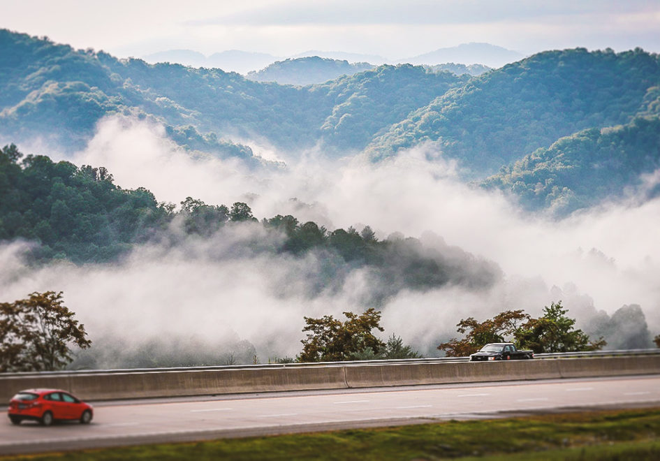 The drive to Highlands from Asheville offers visuals that will last a lifetime.
