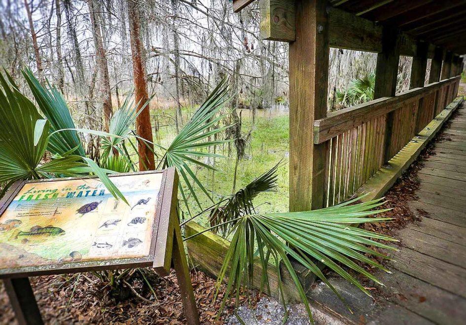 Mandalay Nature Trail sign