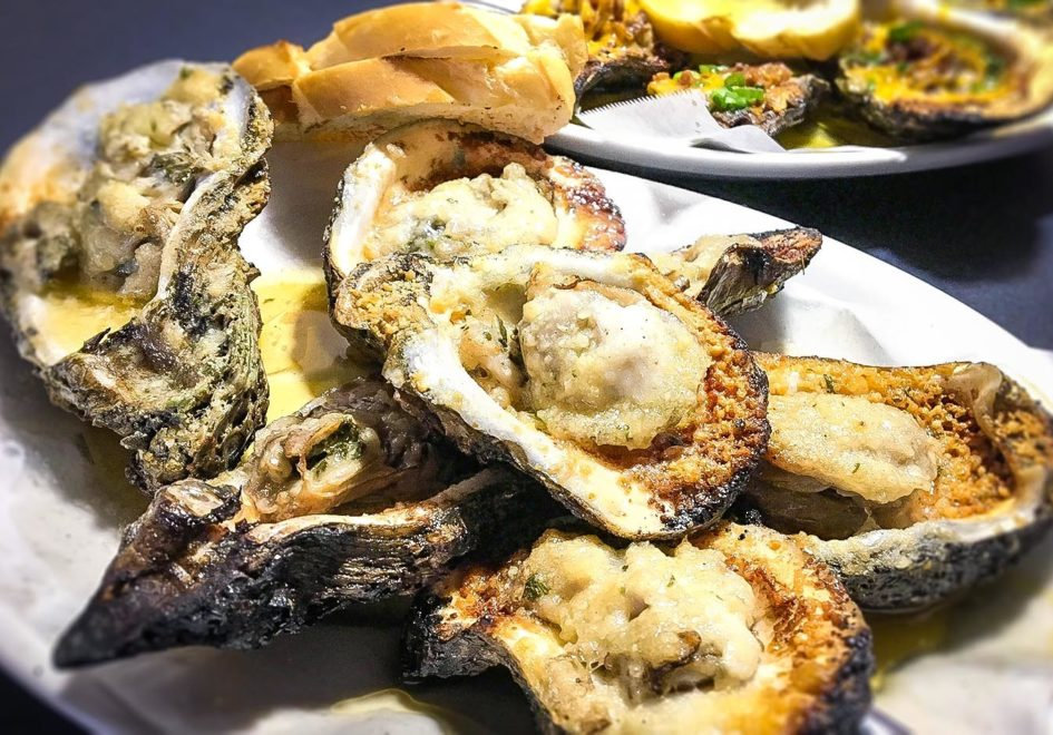 Mimi's Cafe oysters