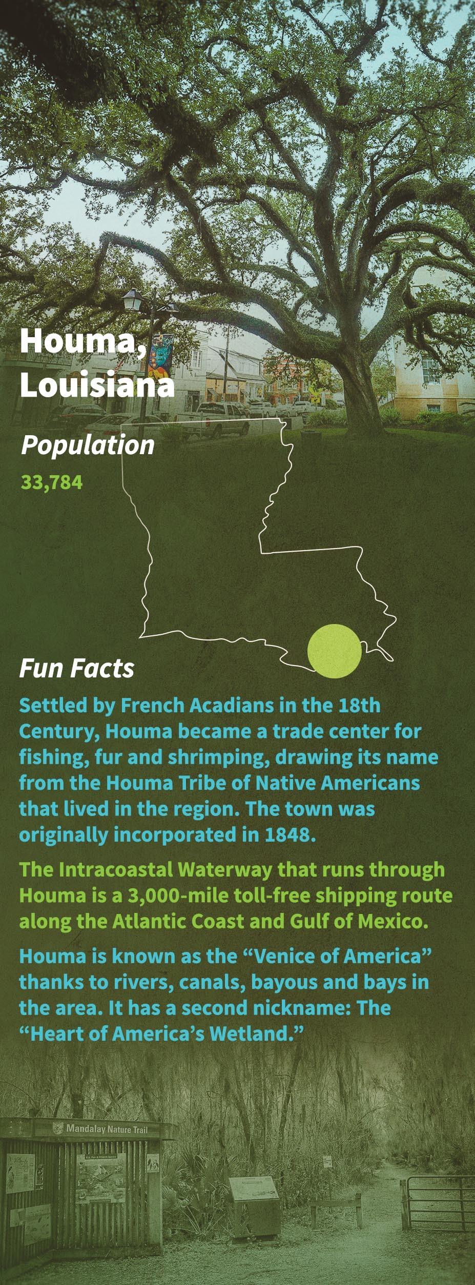 Houma Fun Facts