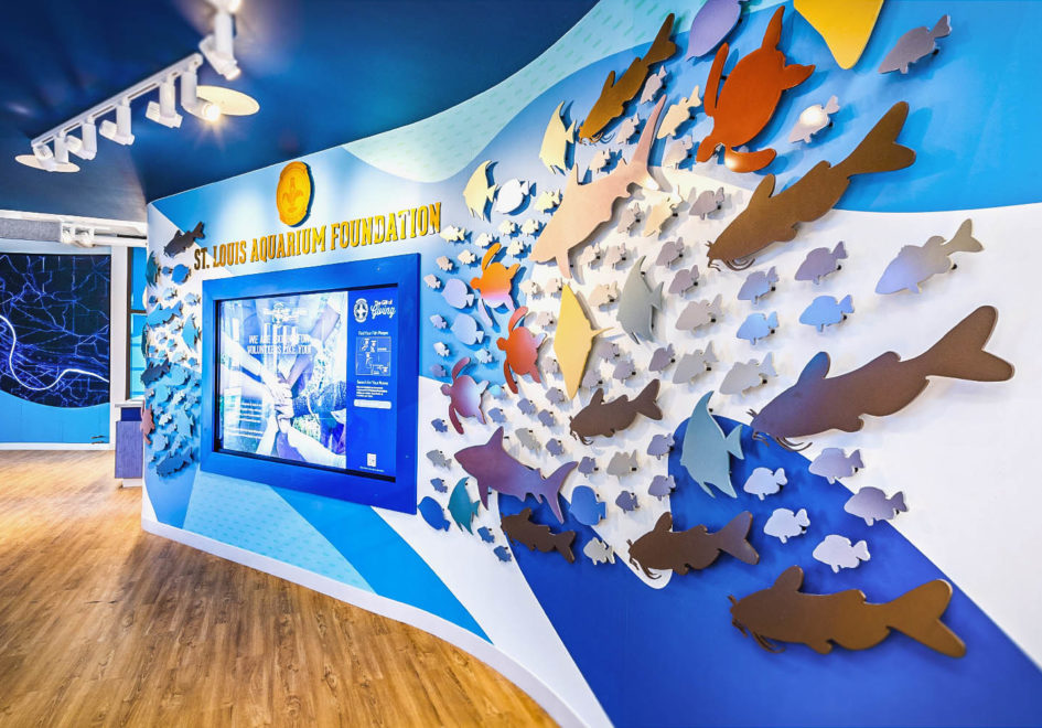 The St. Louis Aquarium Foundation is dedicated to engaging thousands of students and serves as the region's recognized voice for water stewardship.