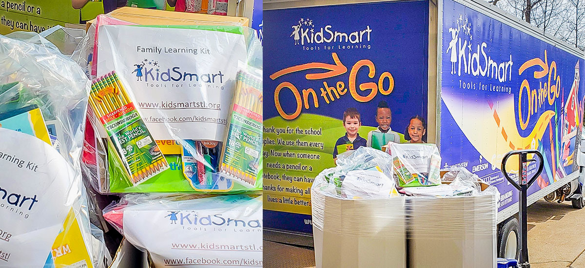 KidSmart St. Louis distributes $38,000 in free school supplies to students each day across 160-plus schools.