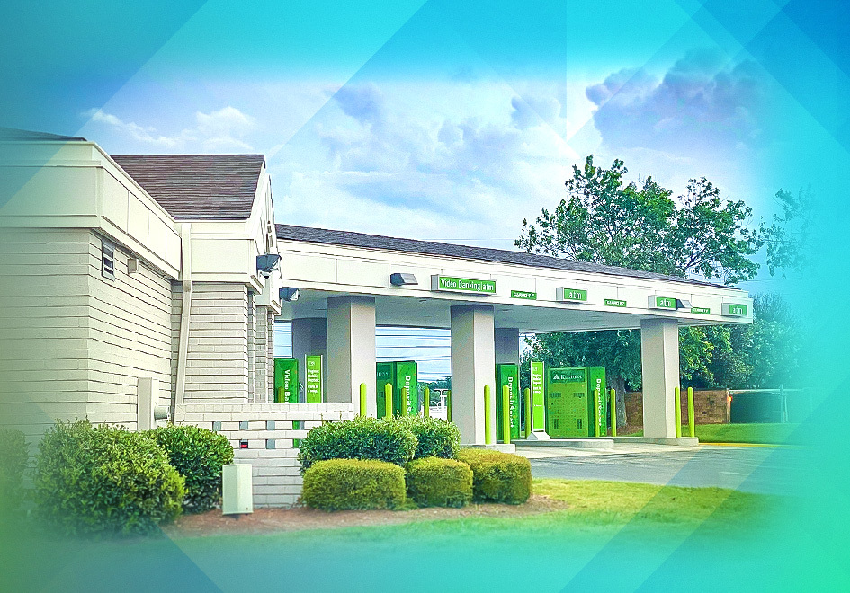 The branch now offers the added convenience of a Video Banking ATM. Regions Video Bankers offer personal service well into the evening and during weekends and holidays.