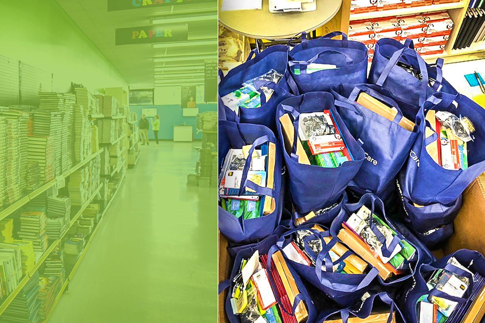 Classroom Central distributed more than one million pounds of free supplies to classrooms last year. They anticipate that need could double this fall due to the pandemic.
