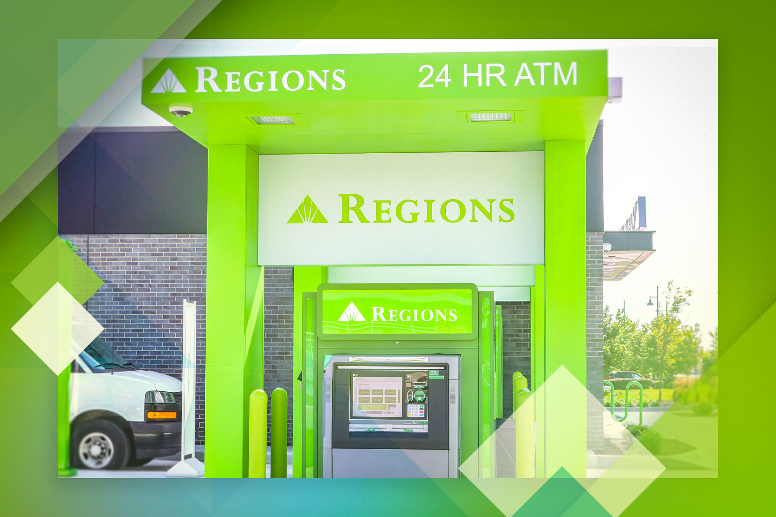 This branch becomes the latest in Central Indiana to offer Regions Video Banking ATMs