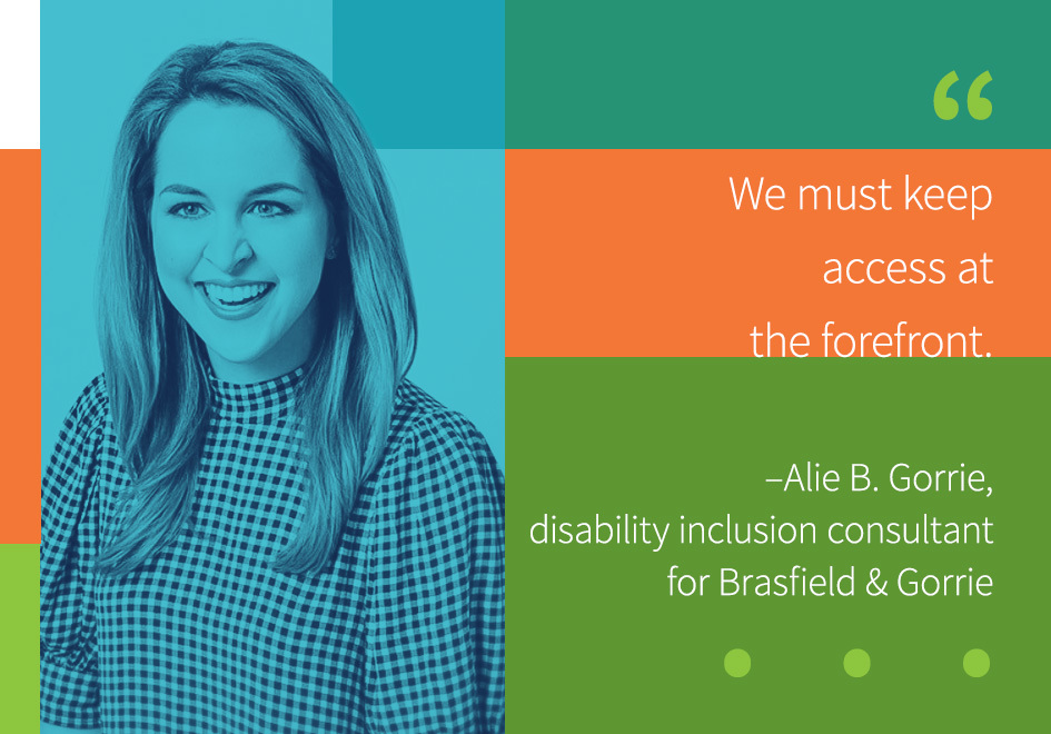 Alie B. Gorrie, disability inclusion consultant, Brasfield & Gorrie