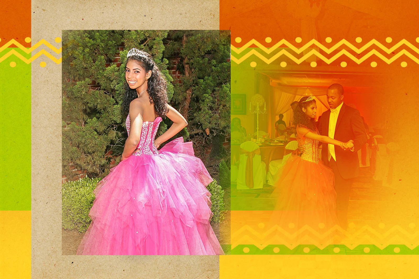 Daughter Kristianna's Quinceañera was a huge celebration filled with family and friends.