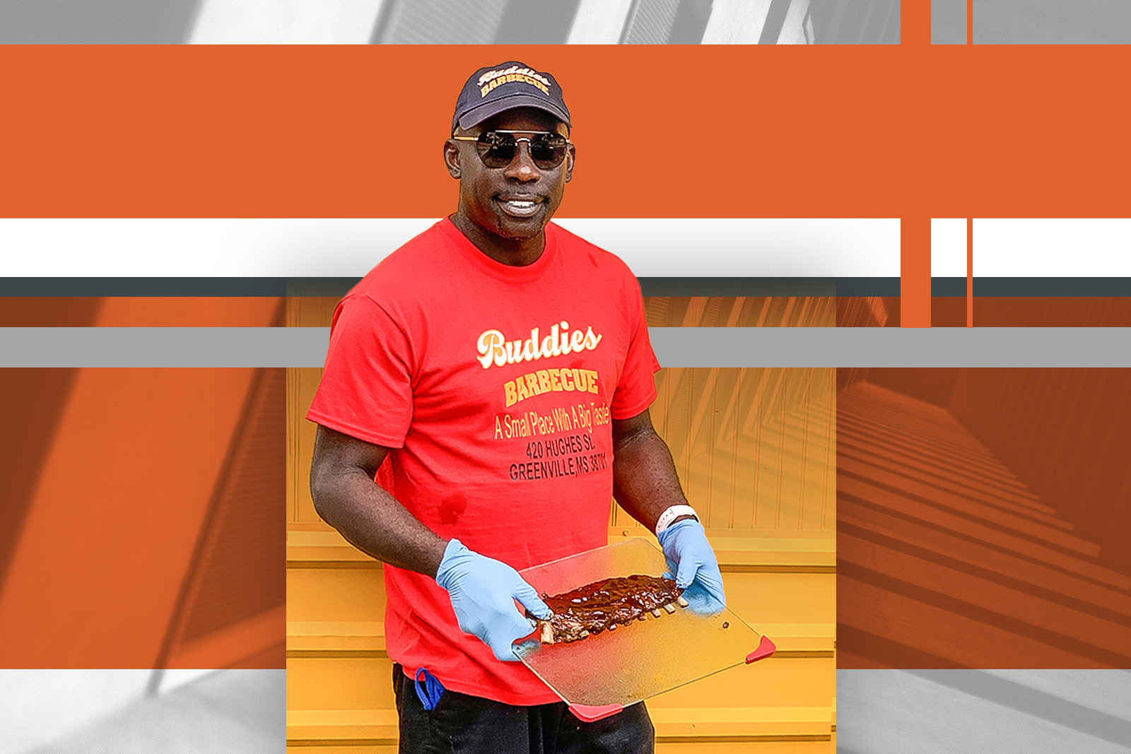 Lemore King will open his barbecue restaurant, Buddies Barbecue, later this year.