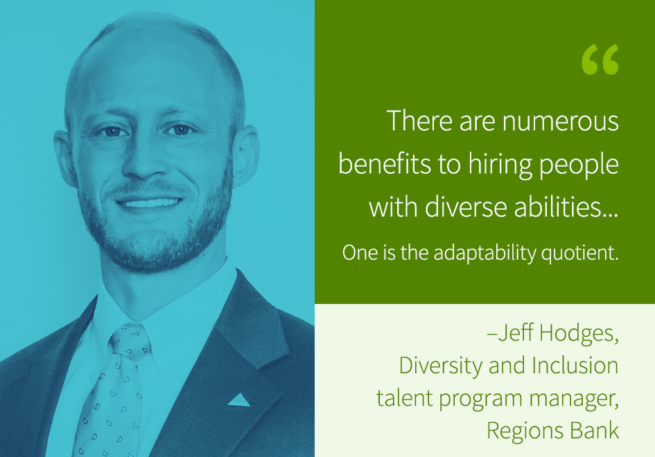 Jeff Hodges, Diversity and Inclusion talent program manager, Regions Bank