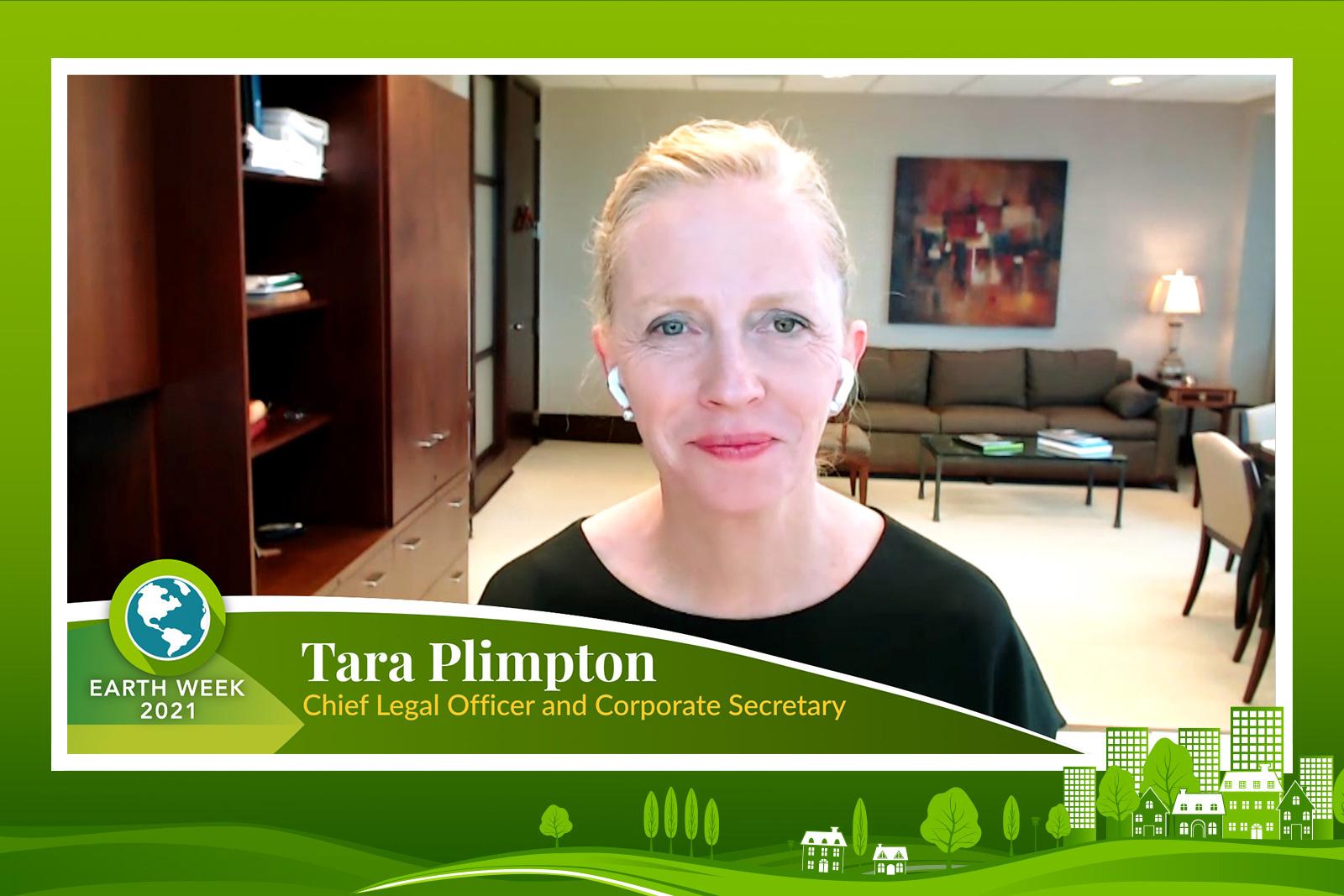 Tara Plimpton - Earth Week 2021