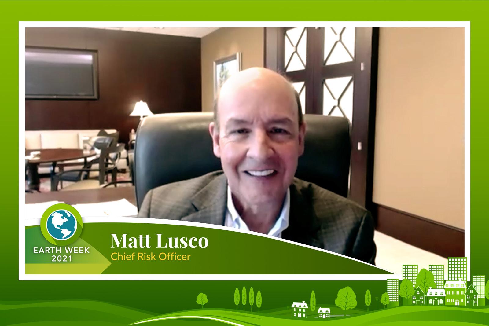 Matt Lusco - Earth Week 2021