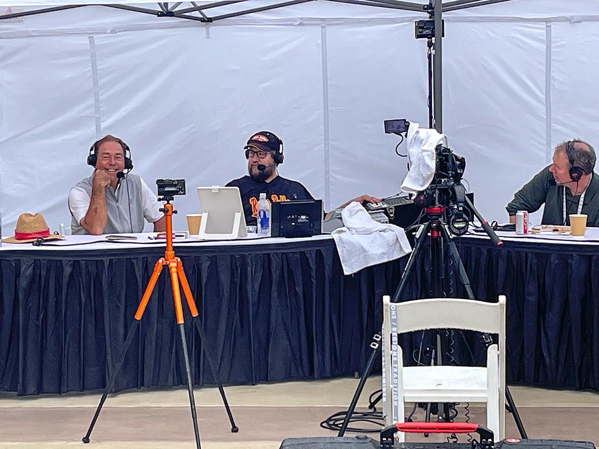 Nick Saban on the radio