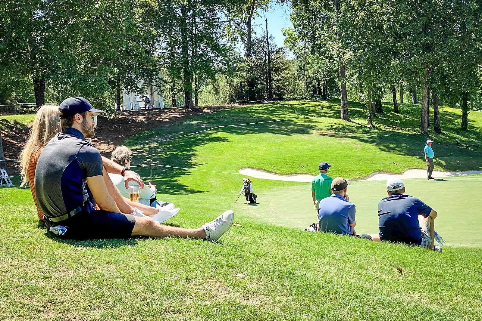 Spectators at the Regions Tradition
