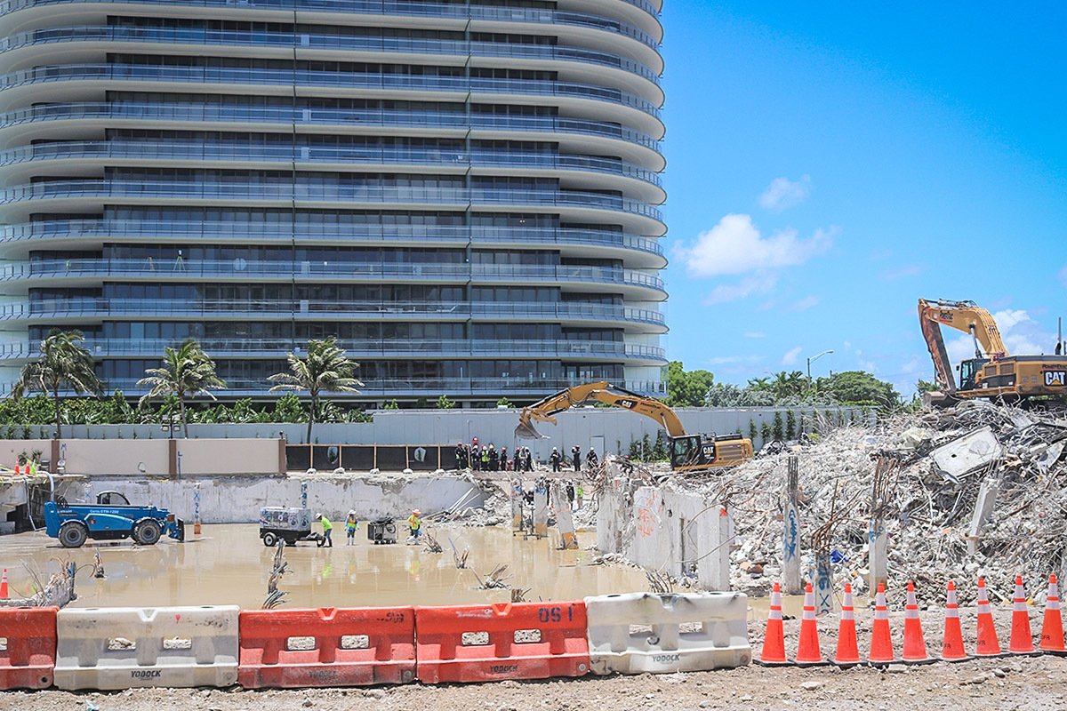 Authorities have worked around the clock in the weeks following the June 24 collapse as part of a massive recovery effort.