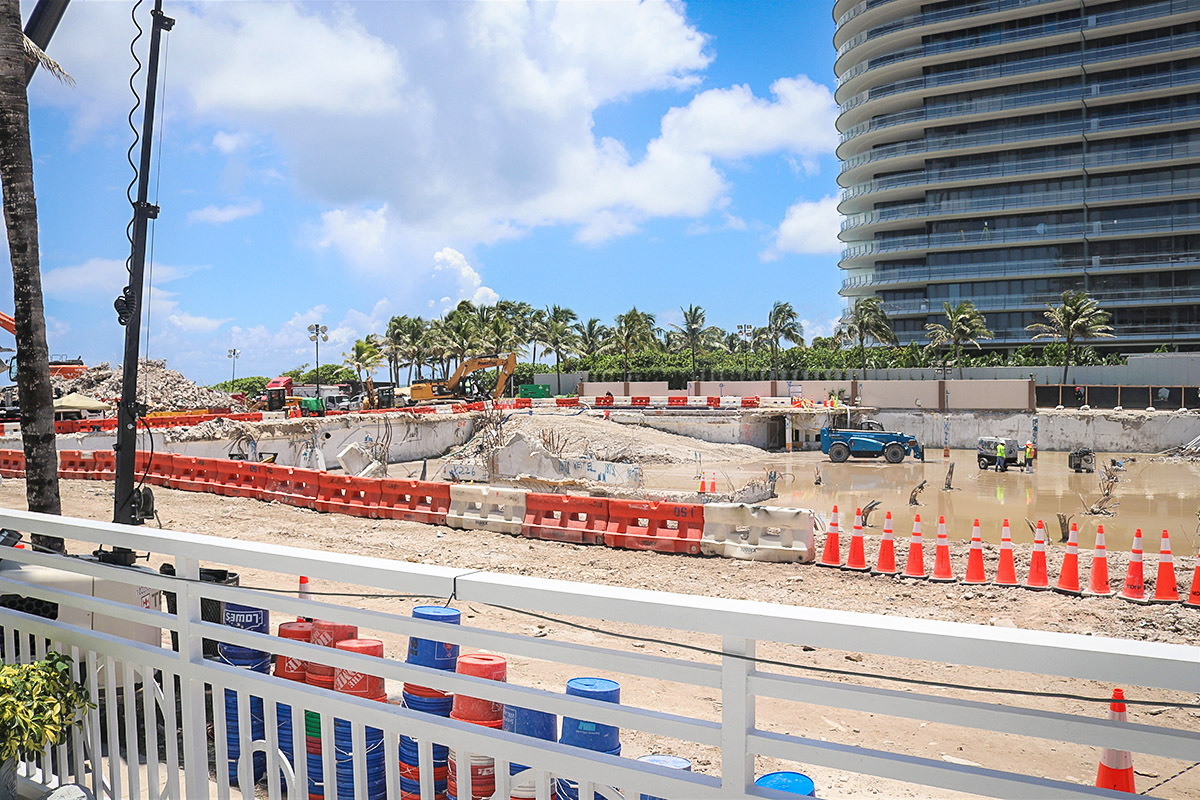 The footprint of the former Champlain Towers South development is in the center of a closely knit community. Donations to United Way of Miami-Dade and other organizations are helping meet the needs of survivors and families.
