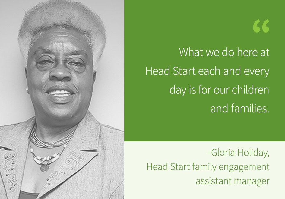 Gloria Holiday quote